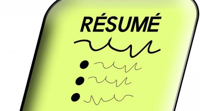 凝った履歴書・職務経歴書はNGの可能性大